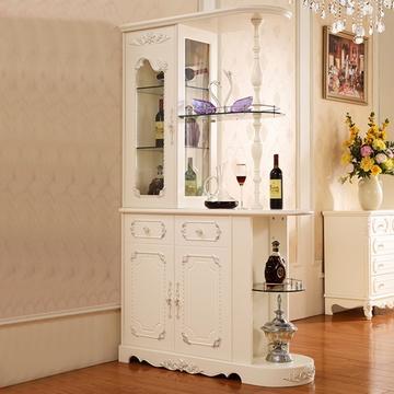欧式风格间厅柜门厅柜玄关柜隔断装饰