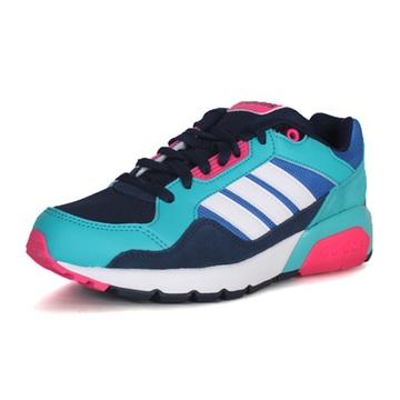 新款adidas neo 阿迪休闲 女鞋 跑步鞋 run9tis aw4516(aw4516 37)