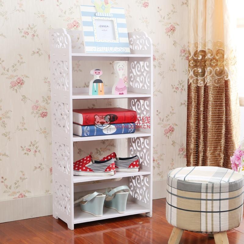 欧式创意鞋架 简易多层浴室收纳防尘鞋架子 鞋柜组合