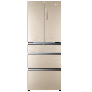 海尔冰箱bcd-426wdgbu1(香槟金)