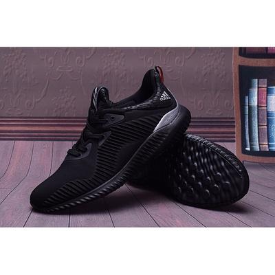阿迪达斯椰子330男鞋复古新配色休闲透气运动鞋跑步旅游鞋 黑色 44