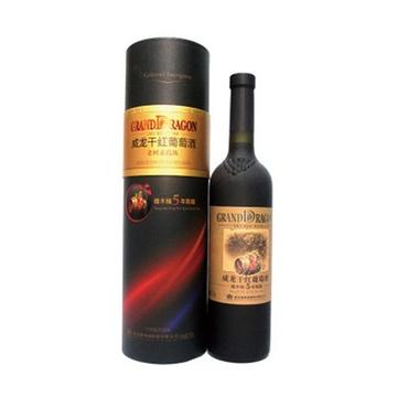 【葡萄酒】威龙橡木桶五年陈酿干红【图片