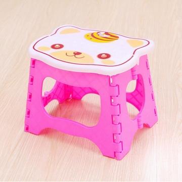 浦晨 可爱卡通折叠凳子手提塑料凳(熊哥哥dd7112)