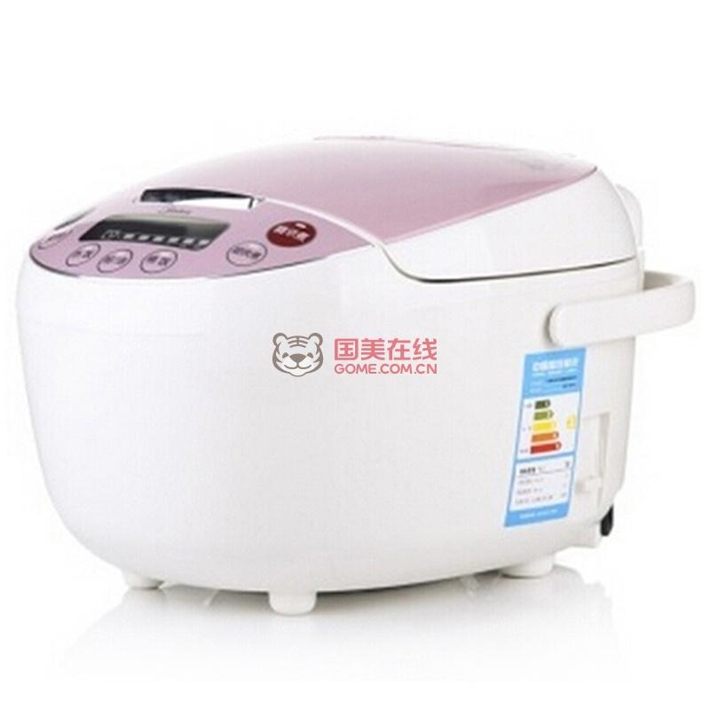 美的(midea)全智能电饭煲mb-fs4018d(4l容量 电脑版 液晶显示)(白色