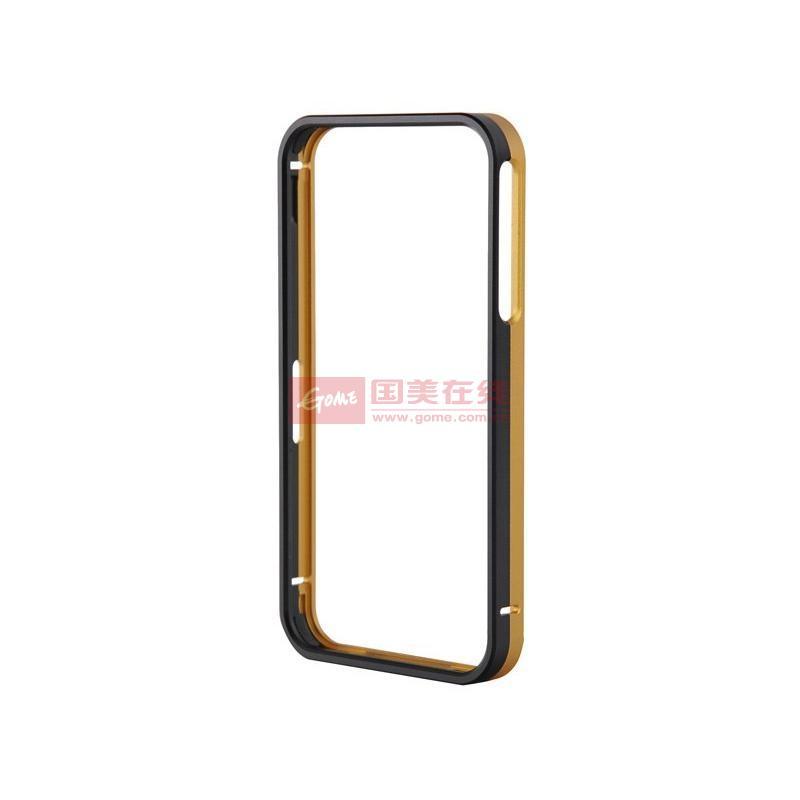 御用(eyon)苹果iphone4/4s金属边框(黑金)图片展示