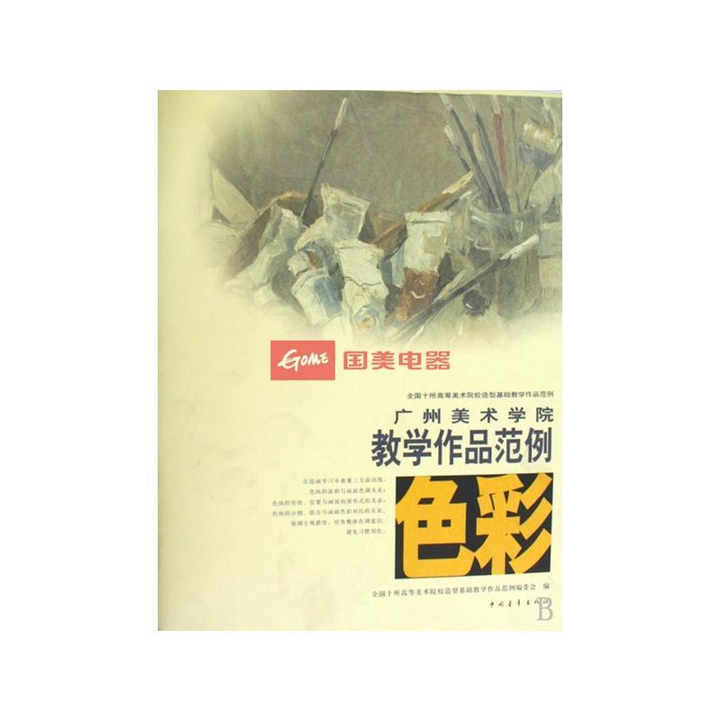 色彩(广州美术学院教学作品范例)