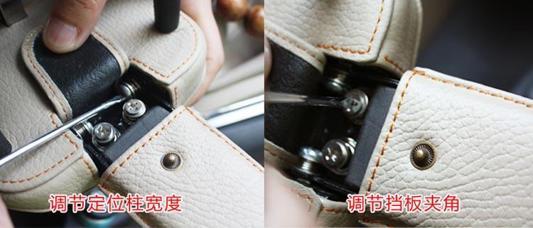 钜甲gh-80汽车方向盘一体式防锯防盗锁(米色)
