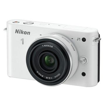 尼康(Nikon)J1(10mm/2.8)可换镜数码套机¥1399