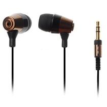 意高(ECHOTECH)CO-148 耳机 入耳式耳机 立体声耳塞(咖啡色)(橡胶耳套,舒适,大方,两对备用橡胶耳套,方便用户及时的清洁更新)