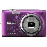 尼康(Nikon)COOLPIX S2700数码相机(花纹紫色)