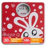 EKS电子人体秤(兔子)9563(红色)(随机发不同显示屏)