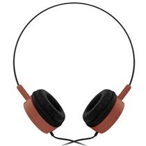 冰橙(Iced Orang)R516 耳机 头戴式耳机  超低音耳机(咖啡色)(线控内置麦克风,并具有音量调节功能,耳机护套采用防真皮护套,佩戴更舒适)
