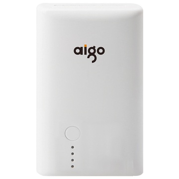 爱国者(aigo)k8000充电宝移动电源充电宝(白色)(7800mah)