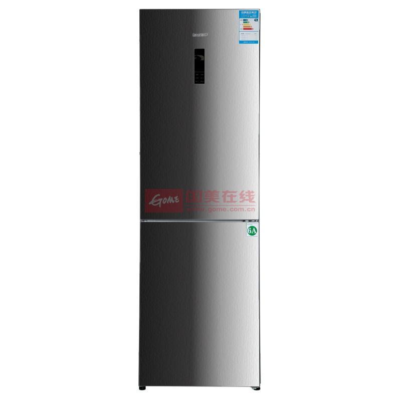 容声(ronshen) bcd-310wpm-g22 310升l 双门冰箱(不锈钢色) 电脑控温