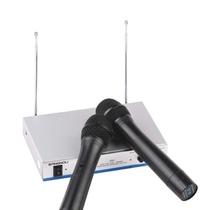 双诺(sangnou)Z02无线麦克风无线手持话筒(黑色)强力双麦接收 50米超距离接收 公众演讲及卡拉OK表演场所 家庭娱乐 无线科技 让您的生活与乐趣相伴~~
