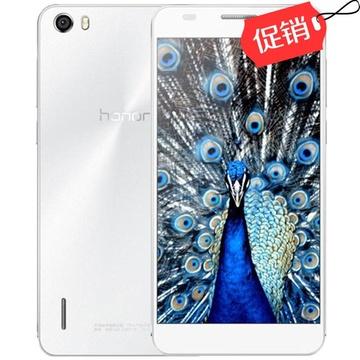 华为(HUAWEI)荣耀6高配版(H60-L12)联通4G手机 32G版 白色 1799元