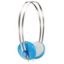 宾果(Bingle)i330耳机头戴式便携耳机 淡蓝色(不锈钢头带 双向拉伸设计 3.5mm标准镀金插针 音质传输更有保障)