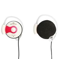 意高(ECHOTECH)CO-138MV 耳机 耳麦 耳挂耳机 (枚红色)( 采用优质高保真喇叭,声音清澈明亮,线控内置麦克风,并具有音量调节功能,方便快捷)