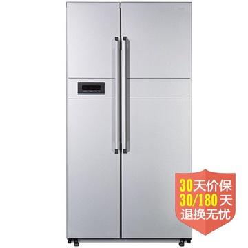 荣事达(Royalstar)BCD-590WDR 590升(L)电脑控温,风冷无霜,触摸式显示屏(银色)对开门冰箱