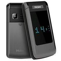 海尔(Haier)M352L 老人翻盖手机移动/联通2G 银河灰