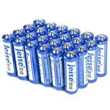 雷摄(LEISE)5号碳性电池  LST5AA-24碳性电池  5号AA无汞环保型24粒/盒【国美自营 品质保证】