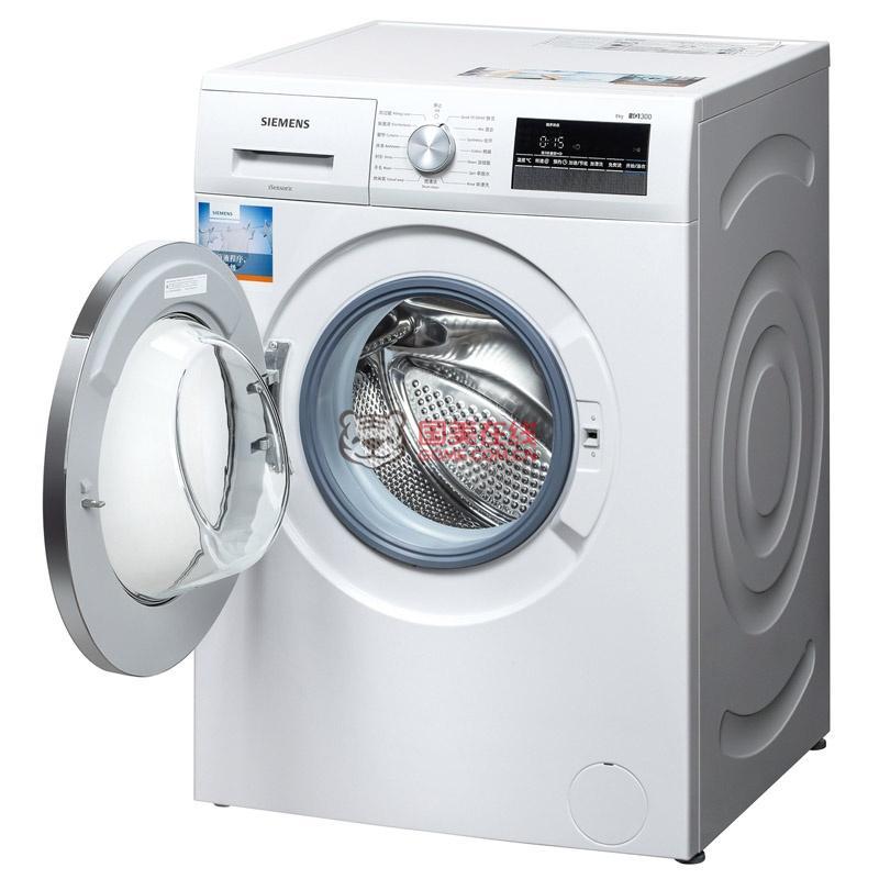 西门子洗衣机xqg80-wm12n2600w-国美团购